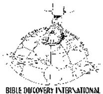 BIBLE DISCOVERY INTERNATIONAL THE EARTH IS MY FOOTSTOOL. ISA. 66:1