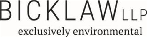 BICK LAW LLP EXCLUSIVELY ENVIRONMENTAL