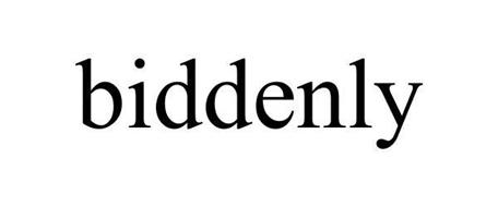 BIDDENLY