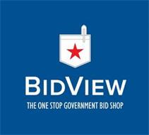 BIDVIEW THE ONE STOP GOVERNMENT BID SHOP