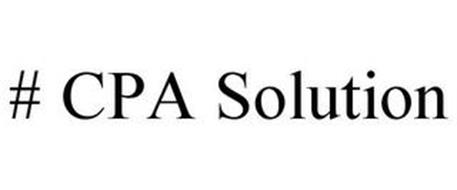 # CPA SOLUTION
