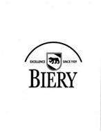 BIERY EXCELLENCE SINCE 1929