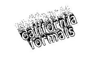 CALIFORNIA FORMALS