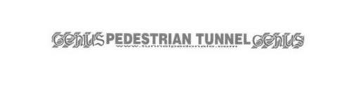 GENIUS PEDESTRIAN TUNNEL GENIUS WWW. TUNNELPEDONALE.COM