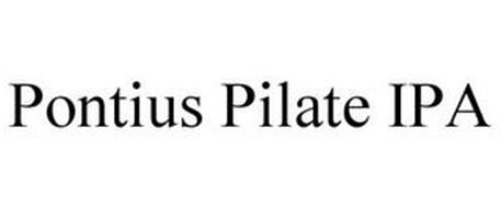 PONTIUS PILATE IPA