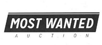 MOST WANTED AUCTION