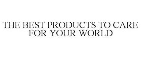 THE BEST PRODUCTS TO CARE FOR YOUR WORLD