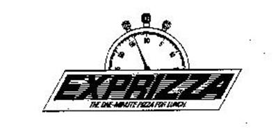 EXPRIZZA THE ONE-MINUTE PIZZA FOR LUNCH.