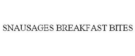 SNAUSAGES BREAKFAST BITES