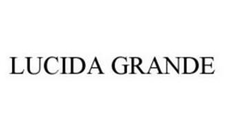 LUCIDA GRANDE