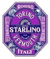 HOTEL STARLINO SELEZIONE DI DAL 1906 1 2 3 4 5 6 7 8 9 10 11 TELEF. +39 011 689 1411 TORINO VERMOUTH ROSSO ITALY PER UN MANHATTAN PERFETTO