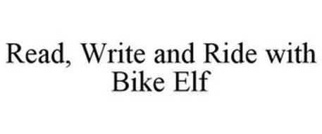READ, WRITE AND RIDE WITH BIKE ELF
