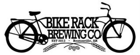 BIKE RACK BREWING CO EST. 2013 BENTONVILLE, AR