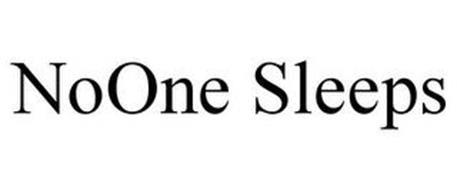 NOONE SLEEPS