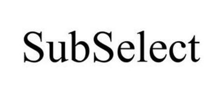SUBSELECT