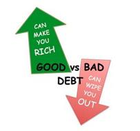GOOD VS BAD DEBT CAN MAKE YOU RICH CAN WIPE YOU OUT