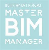INTERNATIONAL MASTER BIM MANAGER