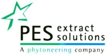 PES EXTRACT SOLUTIONS A PHYTONEERING COMPANY