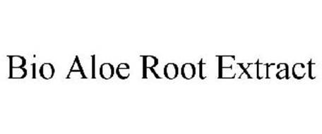 BIO ALOE ROOT EXTRACT