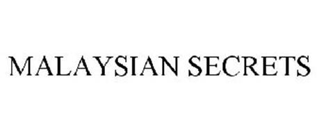 MALAYSIAN SECRETS