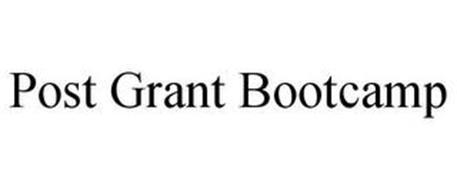 POST GRANT BOOTCAMP
