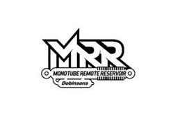 MRR MONOTUBE REMOTE RESERVOIR DOBINSONS