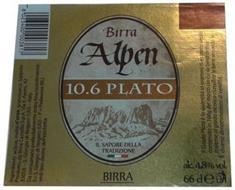 10.6 PLATO BIRRA ALPEN