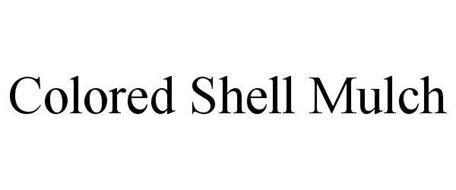 COLORED SHELL MULCH