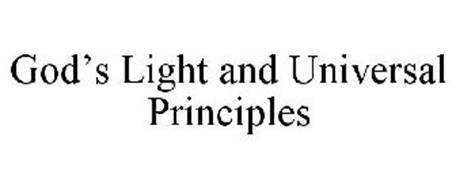 GOD'S LIGHT AND UNIVERSAL PRINCIPLES