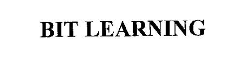 BIT LEARNING