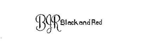 BJR BLACK AND RED