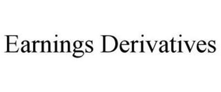 EARNINGS DERIVATIVES