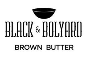 BLACK & BOLYARD BROWN BUTTER