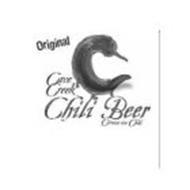 C ORIGINAL CAVE CREEK CHILI BEER CERVEZA CON CHILI