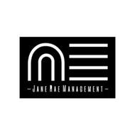 -JANE RAE MANAGEMENT- U