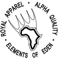 ROYAL APPAREL ALPHA QUALITY ELEMENTS OFEDEN