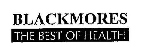 BLACKMORES THE BEST OF HEALTH