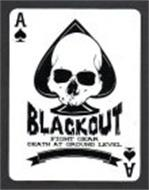 BLACKOUT FIGHT GEAR DEATH AT GROUND LEVEL