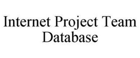 INTERNET PROJECT TEAM DATABASE