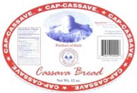 CAP-CASSAVE CASSAVE BREAD PRODUCT OF HAITI CAMPA·DIRECT PRODUCT