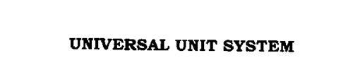 UNIVERSAL UNIT SYSTEM