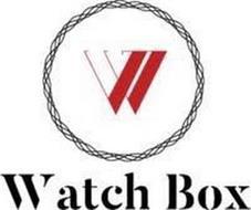 W WATCH BOX