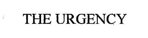 THE URGENCY