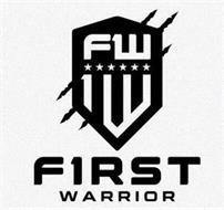 FW 1W F1RST WARRIOR