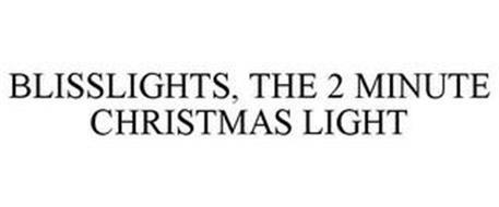BLISSLIGHTS, THE 2 MINUTE CHRISTMAS LIGHT