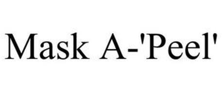 MASK A-'PEEL'