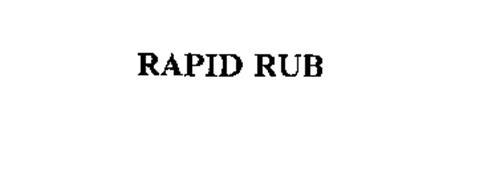 RAPID RUB