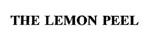 THE LEMON PEEL