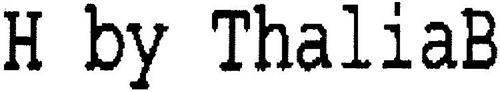 H BY THALIAB