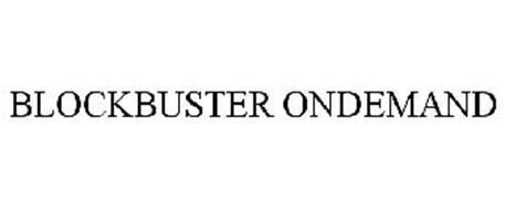 BLOCKBUSTER ONDEMAND